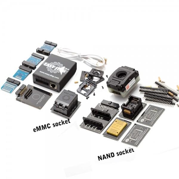Z3X Easy Jtag Plus Box - Full Version + EMMC Socket + NAND Socket