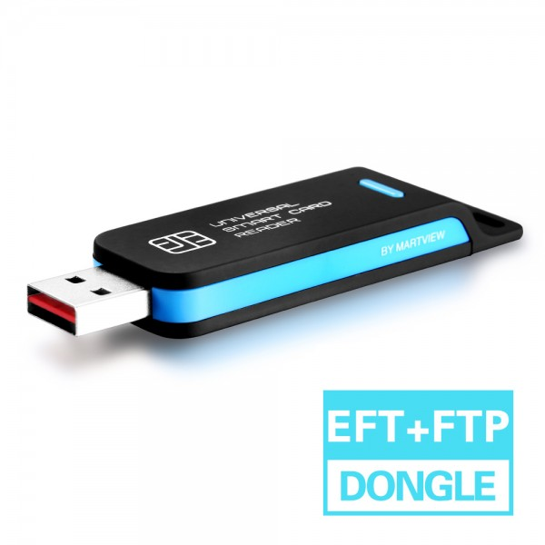 EFT + FTP 2 in 1 Dongle (Free 1 Years Activation)