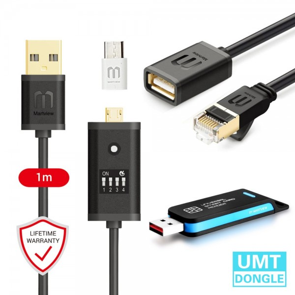 UMT Dongle + FREE Martview All Boot Cable (EASY SWITCHING) & Micro