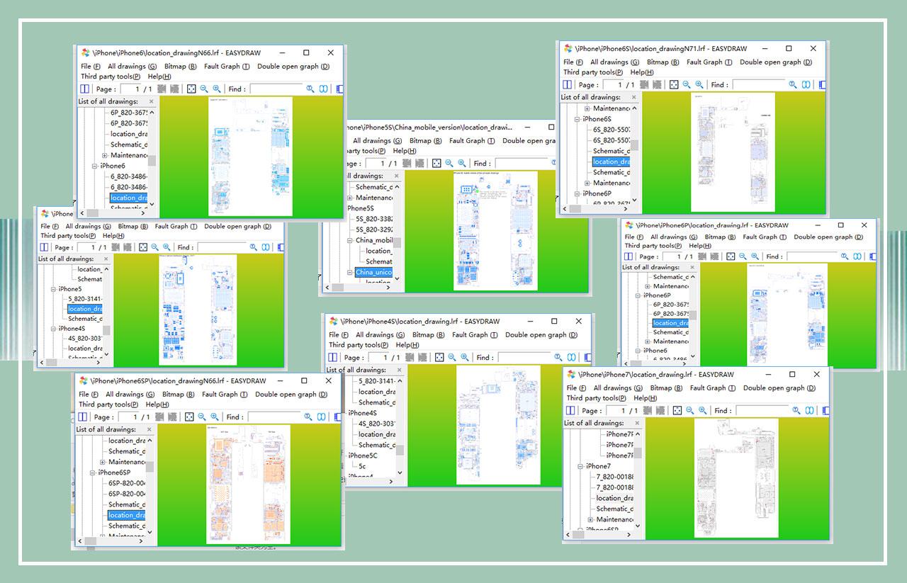 Easy Draw Repairing Schematic Diagram Circuit Diagram Bitmap